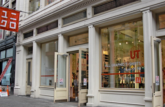 Uniqlo SOHO Flagship store